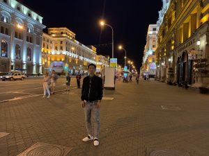 Minsk, Belarus night long sleeves