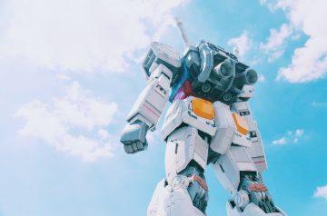 Japanese anime gundam