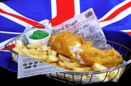 Fish and Chips in Britain